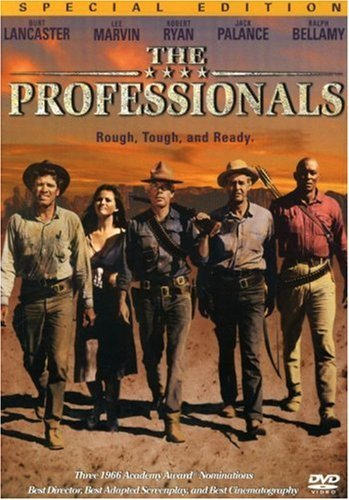 The Professionals Lancaster Marvin Palance Balla Clr Ws Pg13 Special Ed.