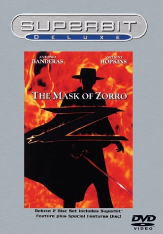Mask Of Zorro Banderas Hopkins Zeta Jones Clr Cc 5.1 Dts Ws Mult Sub Pg13 Superbit