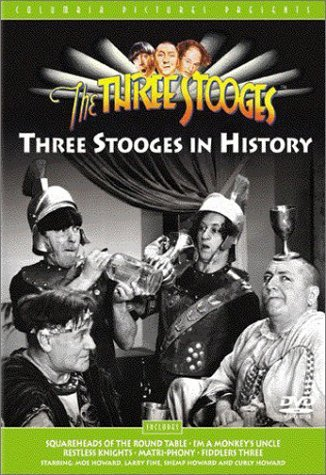 Stooges In History Three Stooges Bw Nr