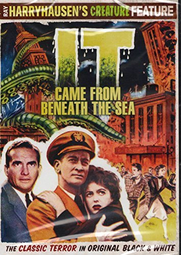 It Came From Beneath The Sea Tobey Domergue Curtis Keith Clr Ws Nr
