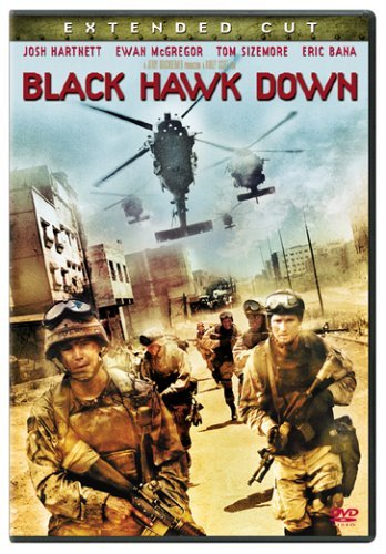 Black Hawk Down Hartnett Sizemore Bana Clr Ws R Extended Cut