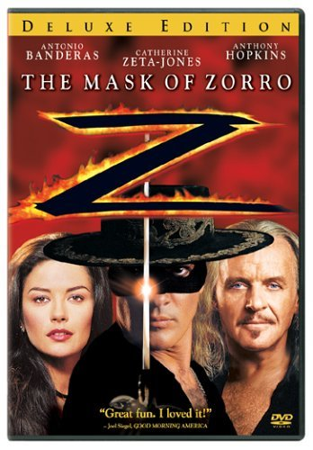 Mask Of Zorro Banderas Hopkins Zeta Jones Clr Ws Pg13