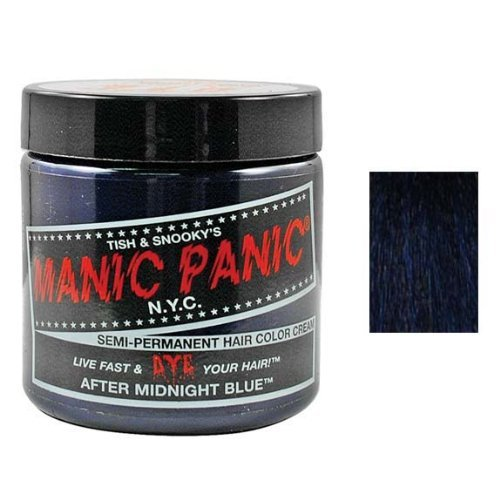 Hair Color Cream Aftermidnight Blue 6