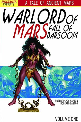 Robert Place Napton Warlord Of Mars Fall Of Barsoom Volume 1