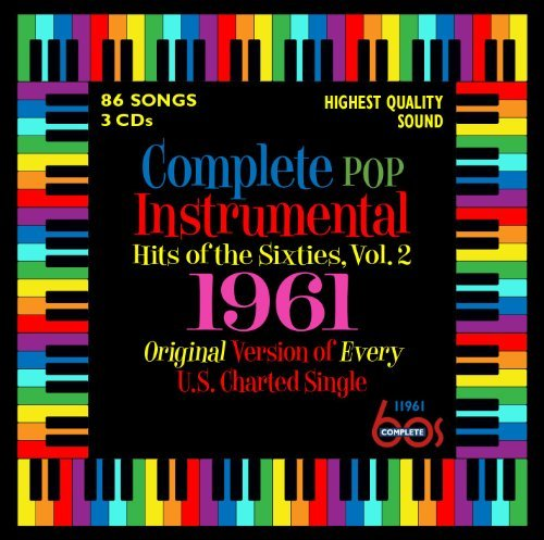 Complete Pop Instrumental Hits Vol. 2 1961 3 CD
