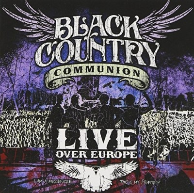 Black Country Communion Live Over Europe (2cd) 2 CD