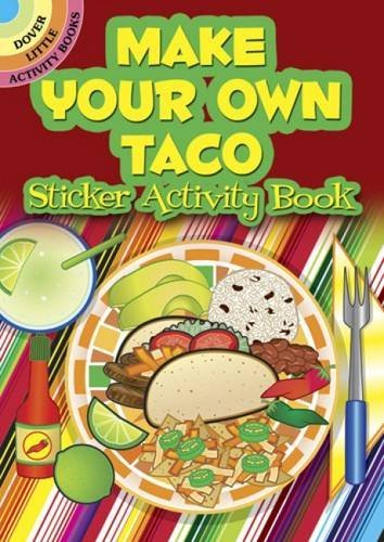 Ellen Christiansen Kraft Make Your Own Taco Sticker Activity Book