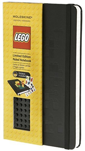 Moleskine Moleskine Lego Black Brick Large Rule Notebook