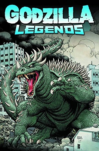 Matt Frank Godzilla Legends