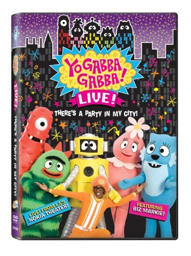 Yo Gabba Gabba Live There's A Party In My Ci Nr