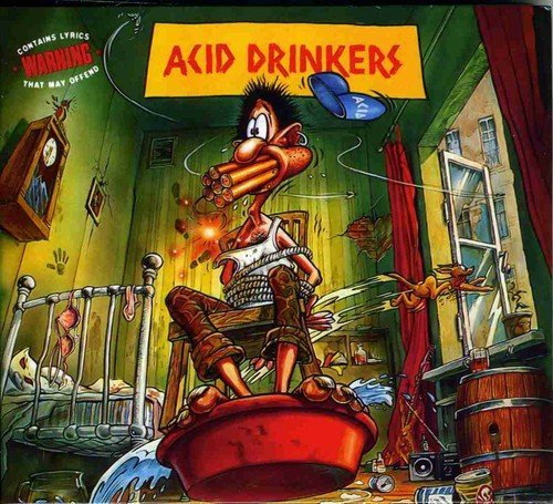 Acid Drinkers Are You A Rebel?