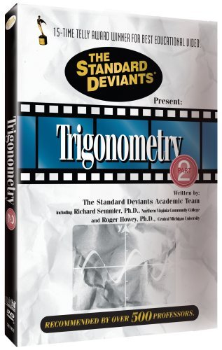 Trigonometry Pt. 2 Standard Deviants Nr
