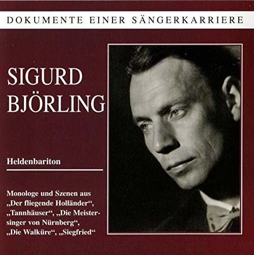 Richard Wagner Legendary Voices Sigurd Bjorli Bjorling(h Bar)