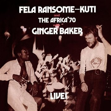 Fela Kuti Fela With Ginger Baker Live Import Eu