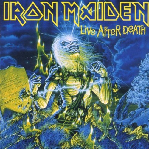 Iron Maiden Live After Death Import Eu