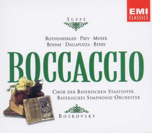 F.Von Suppe Boccaccio Comp Opera Prey (bar) Rothenberger (sop) Boskovsky Various