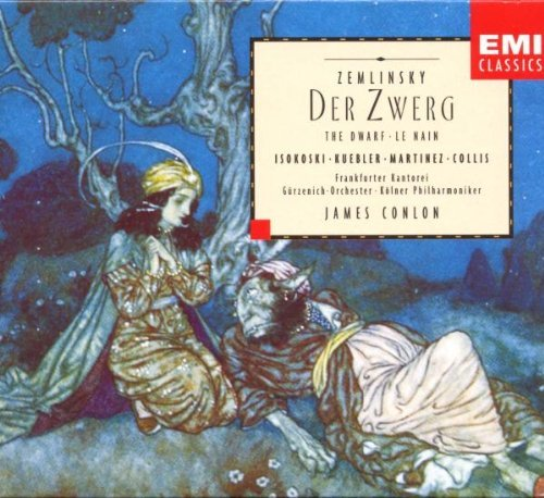 A. Zemlinsky Der Zwerg Conlon*james 2 CD Set