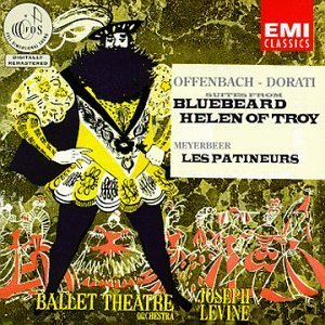 Offenbach Meyerbeer Bluebeard Helen Of Troy Patine Levine Ballet Theatre Orch