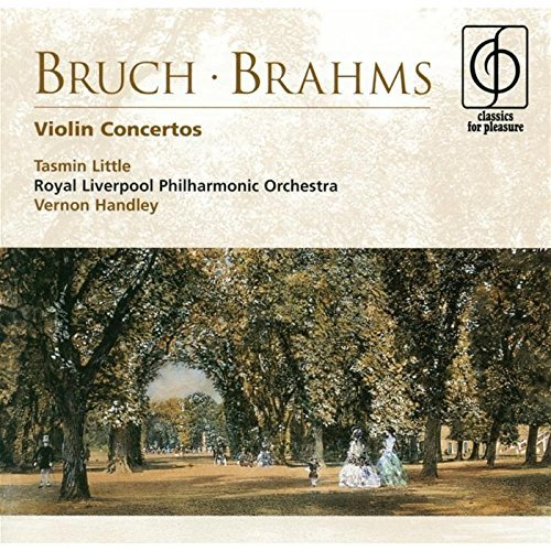 Bruch Brahms Con Vn 1 (gm) Con Vn (d) Import Eu Handley Royal Liverpool Po