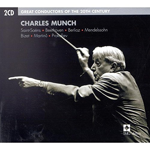 Charles Munch Great Conductors Of The 20th C Munch Various