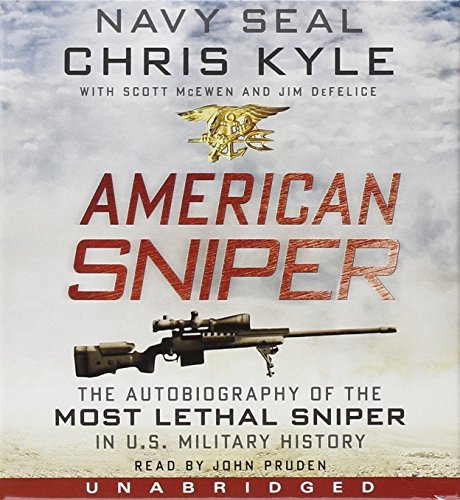 Chris Kyle American Sniper CD The Autobiography Of The Most Lethal Sniper In U.