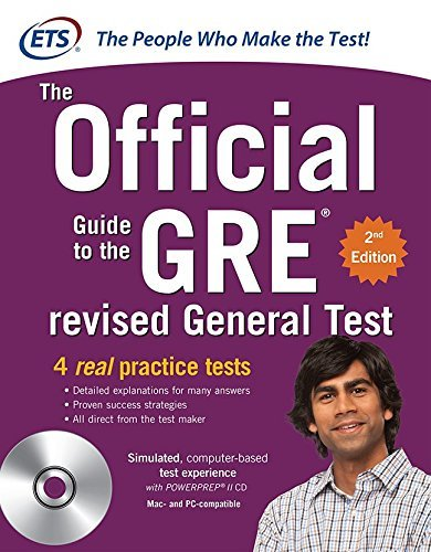 Educational Testing Service Gre The Official Guide To The Revised General Test 0002 Edition;revised