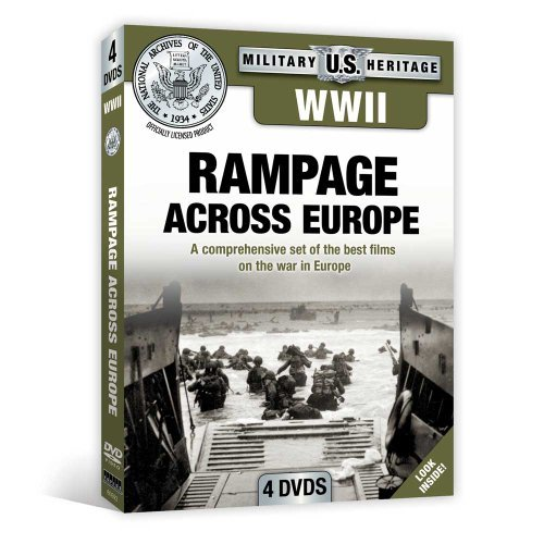 Ww2 Rampage Across Europe Ww2 Rampage Across Europe Nr 4 DVD