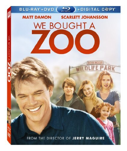 We Bought A Zoo Damon Johansson Pg Incl. DVD Dc