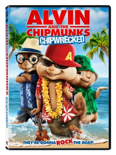 Alvin & The Chipmunks Chipwrecked DVD G Ws