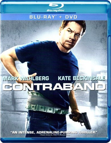 Contraband Wahlberg Beckinsale Ribisi Blu Ray DVD Dc R