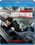 Mission Impossible Ghost Protocol Cruise Renner Pegg Patton Blu Ray DVD Pg13