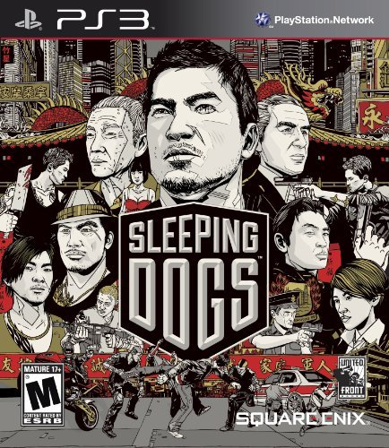 Ps3 Sleeping Dogs Square Enix Llc M