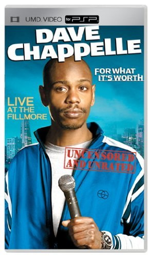 For What It's Worth Chappelle Dave Clr Umd Nr Uncensored