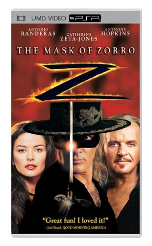 Mask Of Zorro Mask Of Zorro Clr Ws Umd Pg13
