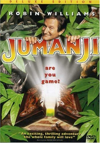 Jumanji Williams Dunst Hunt Clr Ws Pg 2 DVD Deluxe