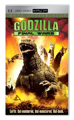 Godzilla Final Wars Godzilla Final Wars Clr Ws Umd Pg13