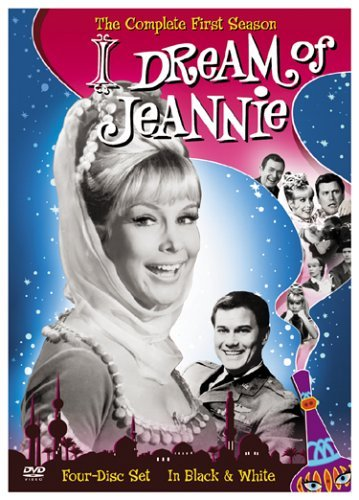 I Dream Of Jeannie Season 1 DVD Black & White Version