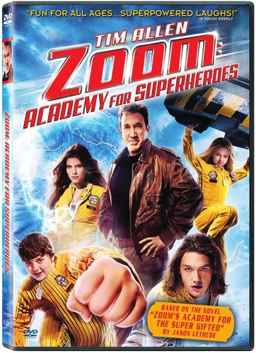 Zoom Academy For Superheroes Allen Cox Chase Ws Pg