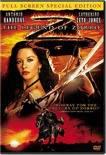 Legend Of Zorro Banderas Zeta Jones Clr Pg
