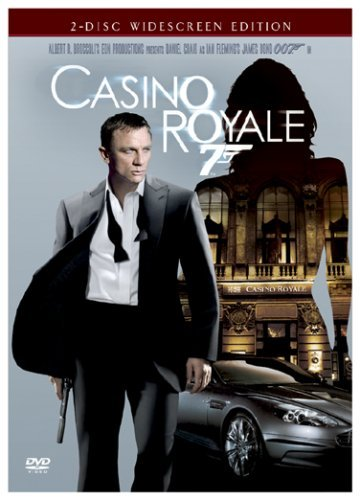 James Bond Casino Royale (2006) Craig Green Dench Wright Pg13 2 DVD