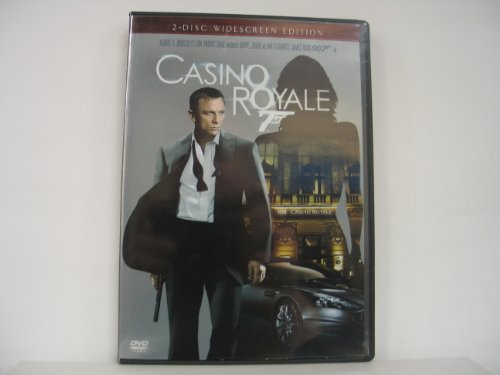 Casino Royale (2006) Craig Green Dench Wright Ws 2 Disc Ed.