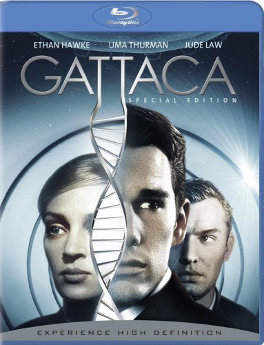 Gattaca Hawke Thurman Law Clr Ws Blu Ray Pg13