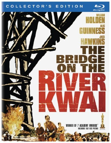 Bridge On The River Kwai Guinness Holden Hayakawa Blu Ray Ws Restored Version Pg Incl. DVD