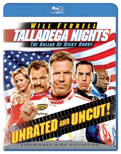 Talladega Nights Ballad Of Ricky Bobby Ferrell Cohen Blu Ray Nr Unrated