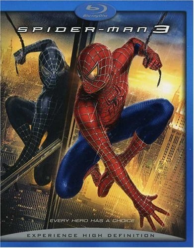 Spider Man 3 Maguire Dunst Dafoe Ws Blu Ray Pg13 2 DVD