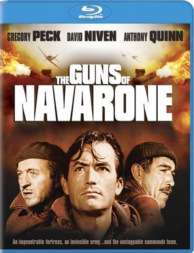 Guns Of Navarone Peck Niven Quinn Blu Ray Aws Nr