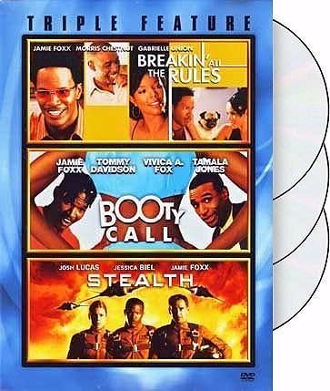 Jamie Triple Feature Foxx Breakin' All The Rules Booty Call Stealth