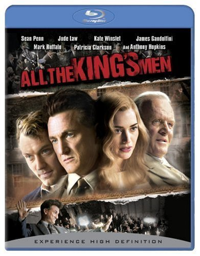 All The King's Men (2006) Penn Law Winslet Blu Ray Ws Pg13