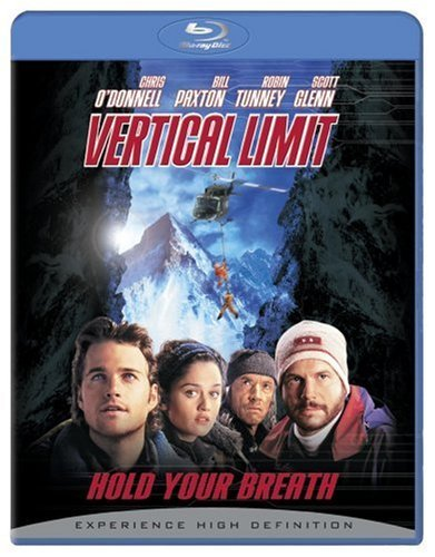 Vertical Limit O'donnell Paxton Tunney Glenn Blu Ray Ws Pg13
