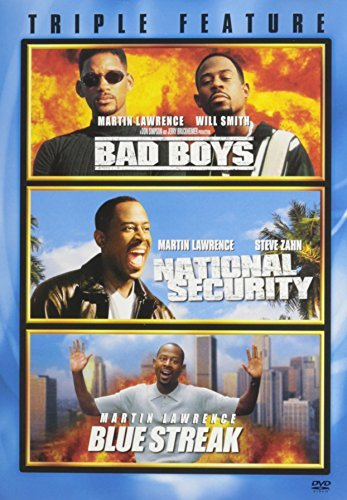 Bad Boys National Security Blue Streak Triple Feature